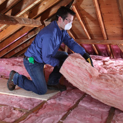Owens Corning R 40 Ecotouch Pink Fiberglas Insulation