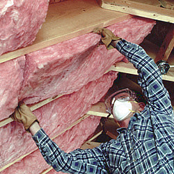 Owens corning r 28 ecotouch pink fiberglas insulation for Pink insulation r value